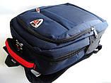 Рюкзак под ноутбук. Городской рюкзак. Стильный рюкзак. Молодёжный рюкзак. Интернет магазин рюкзаков., фото 9