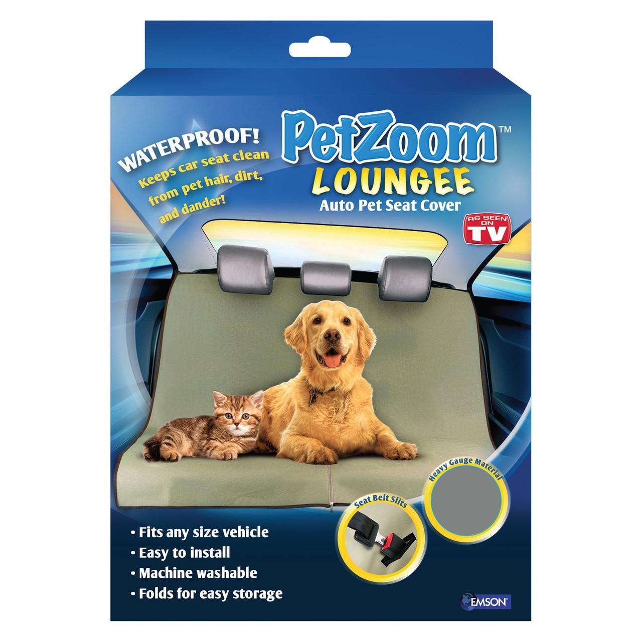 Подстилка для собак в машинку чехол для животных Pet Zoom