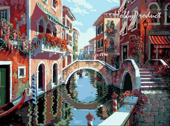 """Раскраска по номерам """"Полдень в Венеции худ. Пейман Боб"""", фото 2"""
