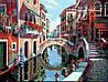"""Раскраска по номерам """"Полдень в Венеции худ. Пейман Боб"""""""