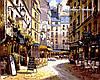 Набор-раскраска по номерам Рестораны Парижа худ. Парк Сунг Сам