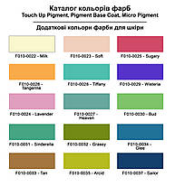 "Краска для кожи 40 мл.""Dr.Leather"" Touch Up Pigment MILK, фото 2"