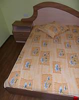 Постельное белье жатка двухспальное Укртекстиль