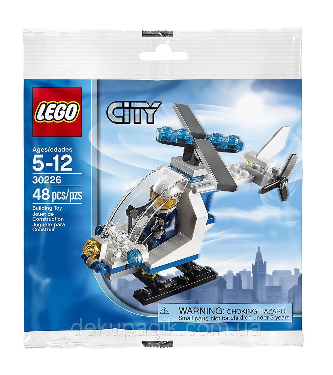 Lego City Полицейский вертолет 30226