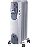 Масляный обогреватель Luxel Oil-Filled Heater NSD-200 7 секций 1500 W, 1001765, масляный обогреватель, обогреватель масляный электрический, лучший