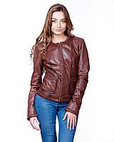 Куртка 13-112 PARIS 013, Цвет Коричневый, Размер XS