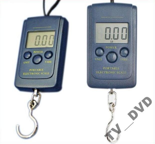 Весы электронные безмен, кантер 40 кг, d=10г