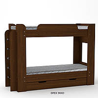 Двухэтажная Кровать- Твикс, с выдвижными ящиками, Тм Компанит.