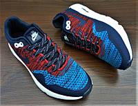 Синие с красным мужские кроссовки Nike Air Max 2017