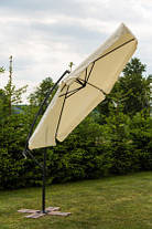 Садовый зонт Furnide бежевый,300 см., фото 3