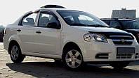 Мухобойка +на капот  Chevrolet AVEO 03-11/ЗАЗ Вида, SD, 11-, темный (Шевроле Авео) SIM