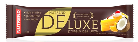 Батончик протеиновый Nutrend - DeLuxe protein bar 30% (60 грамм) апельсино-кокосовое печенье