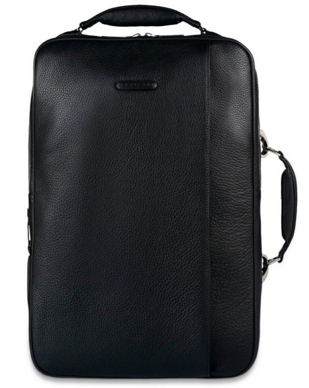 """Сумка-рюкзак Piquadro Modus из кожи для ноутбука 15,6"""", CA3201MO_N"""