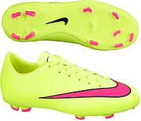 Детские футбольные бутсы Nike JR Mercurial Victory V FG 651634 760