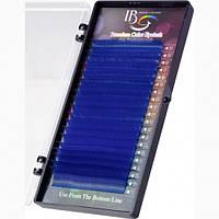 Ресницы на ленте Синие Mix I- Beauty CC 0,1 мм - 8(2)9(2)10(3)11(4)12(4)13(3)14(2)