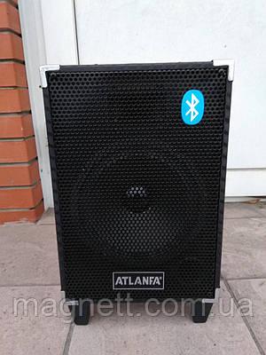 Портативная колонка Atlanfa AT-Q6 с микрофоном 80W