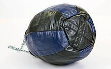 Чехол боксерского мешка Каплевидный кожаный (без наполнителя) TWINS PPL-BU-L, фото 3
