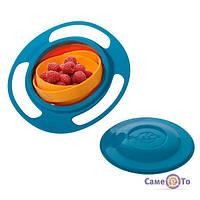 Дитяча тарілка непроливайка Gyro Bowl (Неваляшка), 1000455, тарілка непроливайка, купити тарілку непроливайку, дитяча тарілка непроливайка,