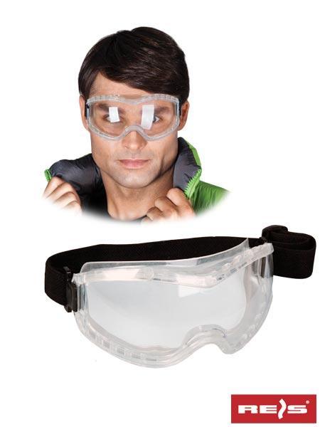 Очки защитные GOG-FLEXIFOG с поликарбоната