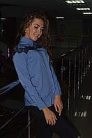 Женская молодежная  блуза с бусинками и ажуром Турция, фото 1