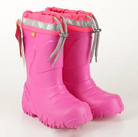 Демисезонные сапоги DEMAR Mammut-S f (розовые)