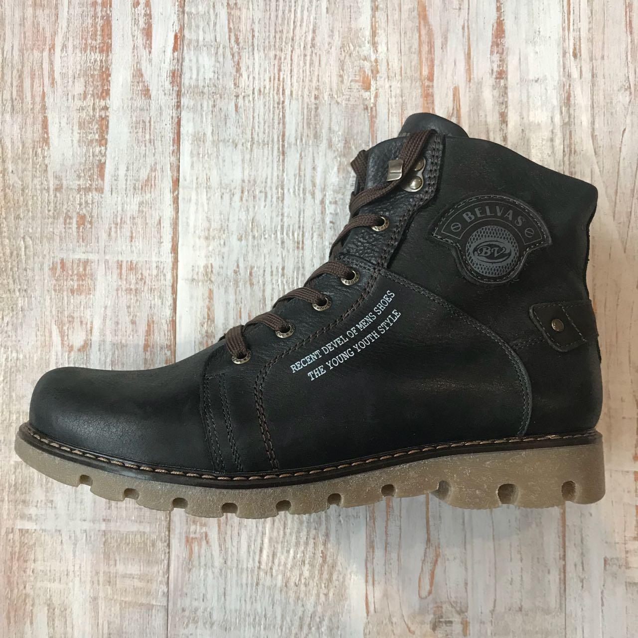 Кожаные ботинки зимние 45 размер  продажа 5064167776c38