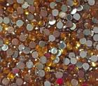 Стразы для ногтей 2 мм, 100 шт, золотые, фото 2