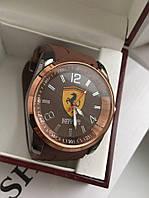 Часы с каучуковым  ремешком