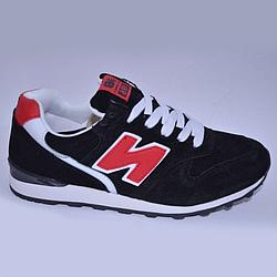 Кроссовки New Balance 996 черные black 37-41 (реплика)
