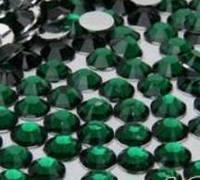 Стразы для ногтей 2 мм, 100 шт, зеленые