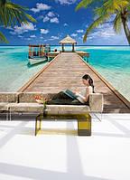 KOMAR 8NW-921 Beach Resort ФЛИЗЕЛИНОВЫЕ фотообои на стену «Морской курорт»