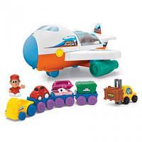 Детский грузовой самолет на батарейках музыка Keenway 12421, фото 1