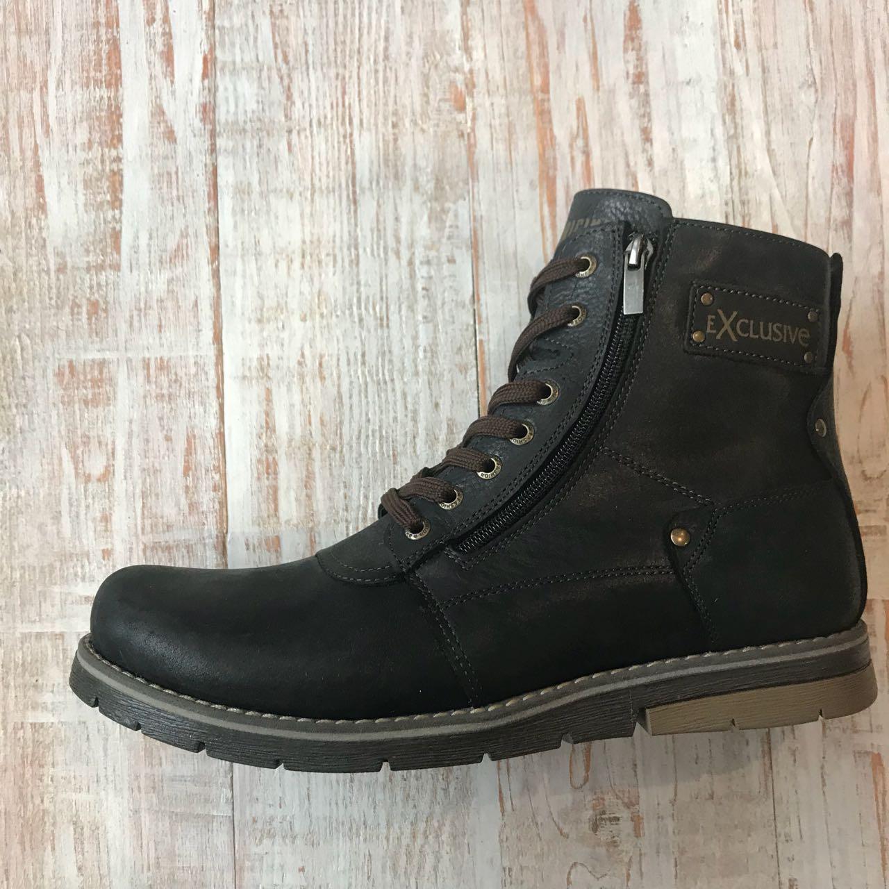 Кожаные ботинки Belvas 42 1cbce762aa0d8