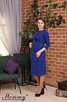 Шерстяное платье для беременных Mommy S-XL разных цветов