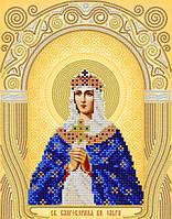 Малюнок на атласі для вишивання бісером АС4-035 Св. Блгв. Княгиня Ольга