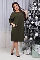 Платье женское, модель 772 , хаки, фото 1