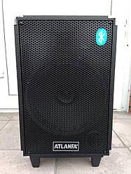 Мощная Портативная колонка Atlanfa AT-Q13 с микрофоном 120W
