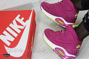 Кроссовки Nike Air Max 90 (малиновые) кроссовки найк nike