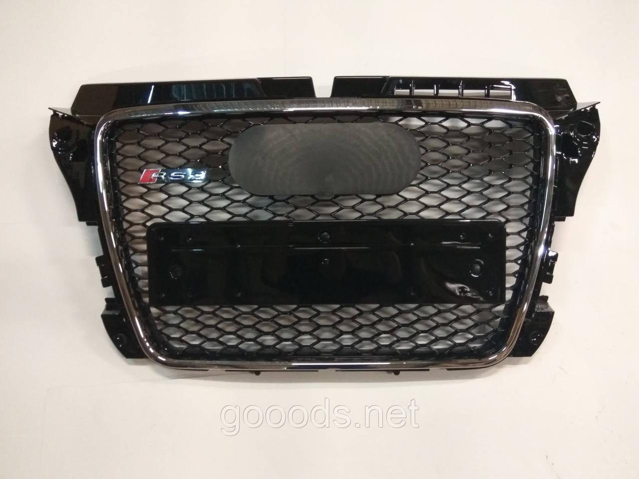 Решетка радиатора Audi A3 в стиле RS3