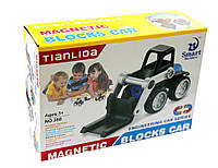 """Магнитный конструктор """"Погрузчик"""" из серии инженерные машины, """"Tianlida"""", E663-H26006"""