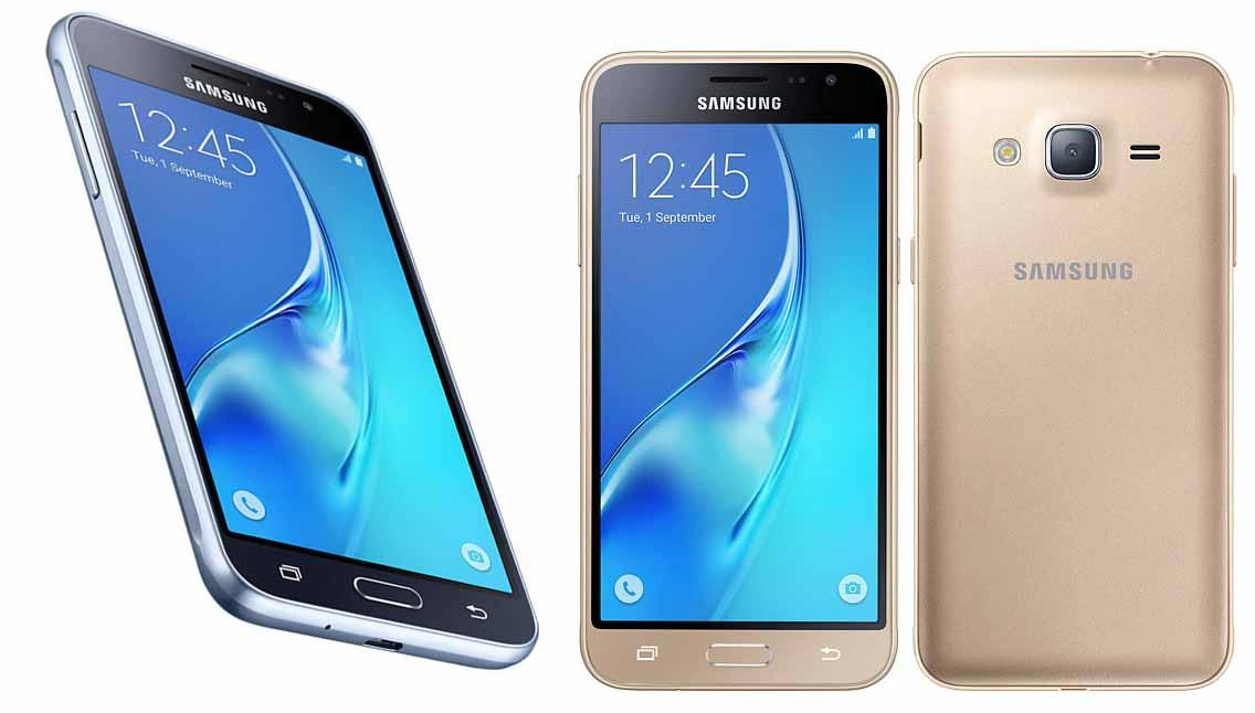 Samsung Galaxy J3 2016 J320H/DS (Black, White, Gold)