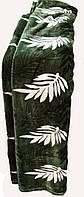Качественный плед-покрывало-простынь с микрофибры Nanhwa Листок