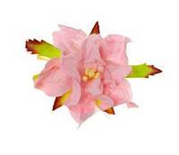 Цветок гордении розовый 5 cm