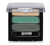 Тени для век IsaDora Triple Eye Shadow 88 eden green