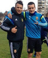 Спортивная куртка Adidas FFU Ukraine сборной Украины по футболу