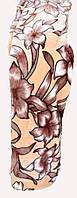Качественный плед-покрывало-простынь с микрофибры Nanhwa Цветы