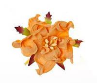 Цветок гордении абрикосовый 5cm