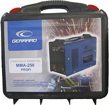 Сварочный инвертор Gerrard MMA 250 profi(чемодан), фото 2