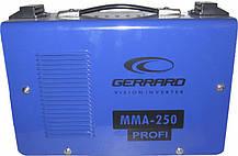 Сварочный инвертор Gerrard MMA 250 profi(чемодан), фото 3