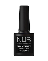 Велюровы(матовый) топ NUB Ohh my matt 8ml